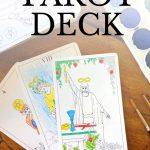 Major Arcana Tarot Deck   Digital Printable Tarot Card Deck From The   Printable Tarot Cards Pdf Free