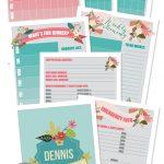 Make A Household Organization Binder (With Free Floral Family Binder   Free Home Management Binder Printables 2017