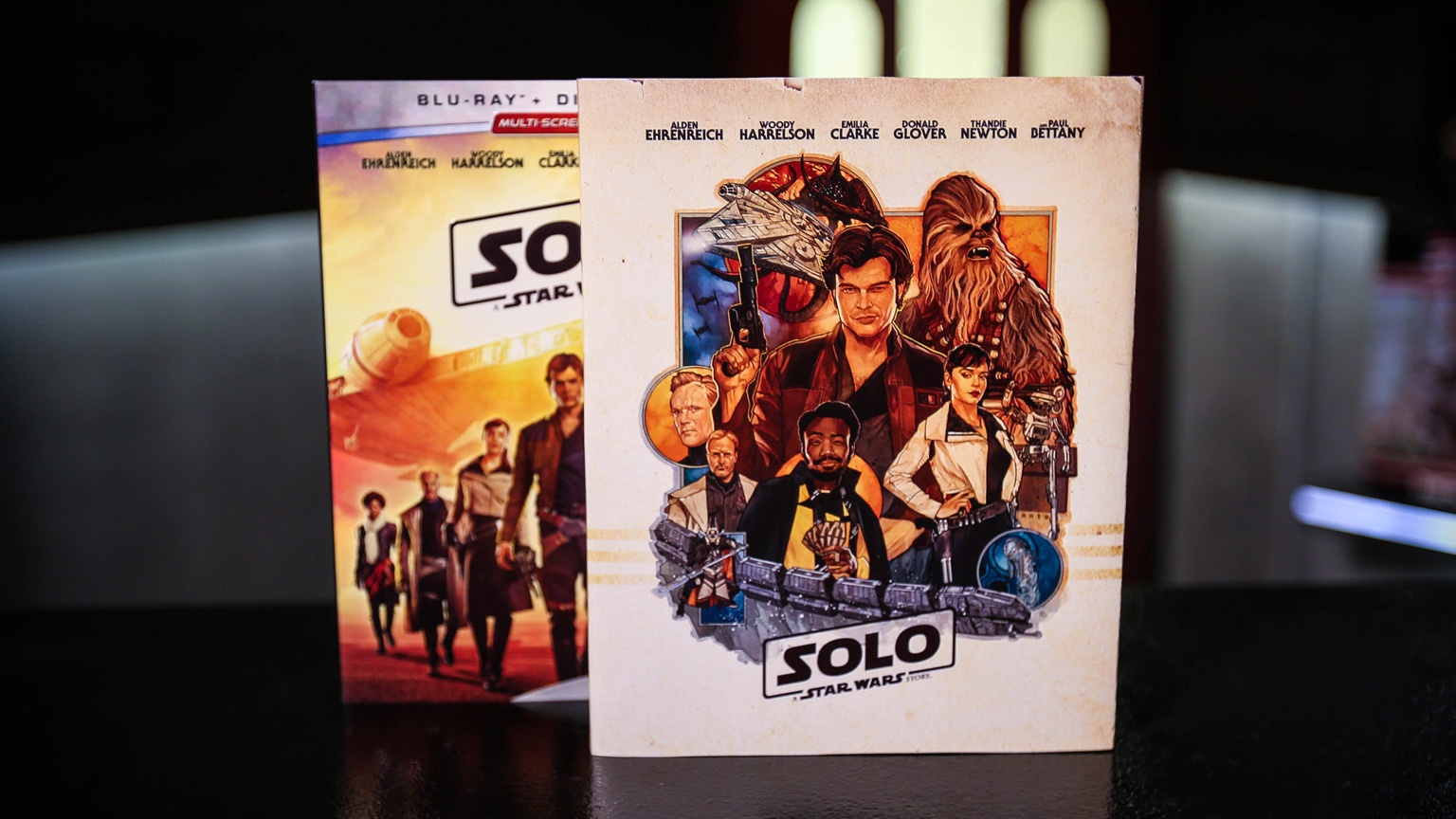 Make A Special Modification To Your Solo: A Star Wars Story Blu-Ray - Free Printable Blu Ray Covers