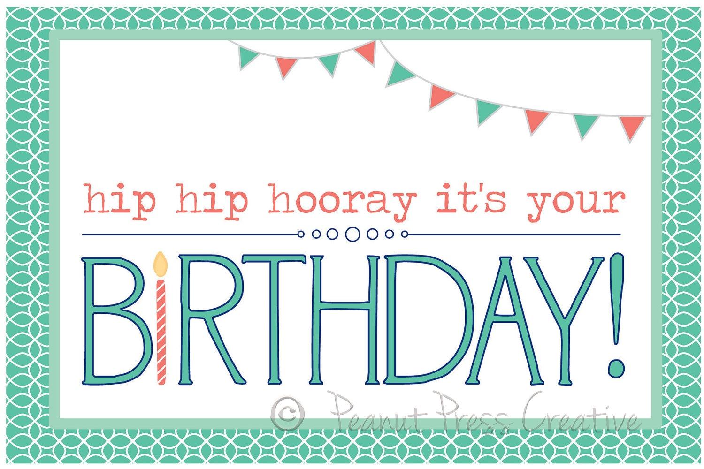 Make Free Printable Birthday Cards - Tutlin.psstech.co - Free Printable Greeting Cards Hallmark