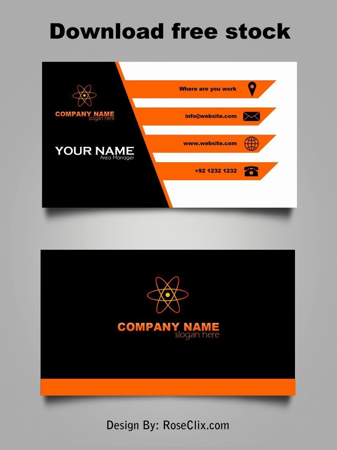 Make Your Custom Free Business Card Printable No Download For Free - Free Printable Cards No Download Required