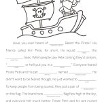 Make Your Own Fill In The Blank Stories | Language Arts Resources   Free Printable Stories For 4Th Graders