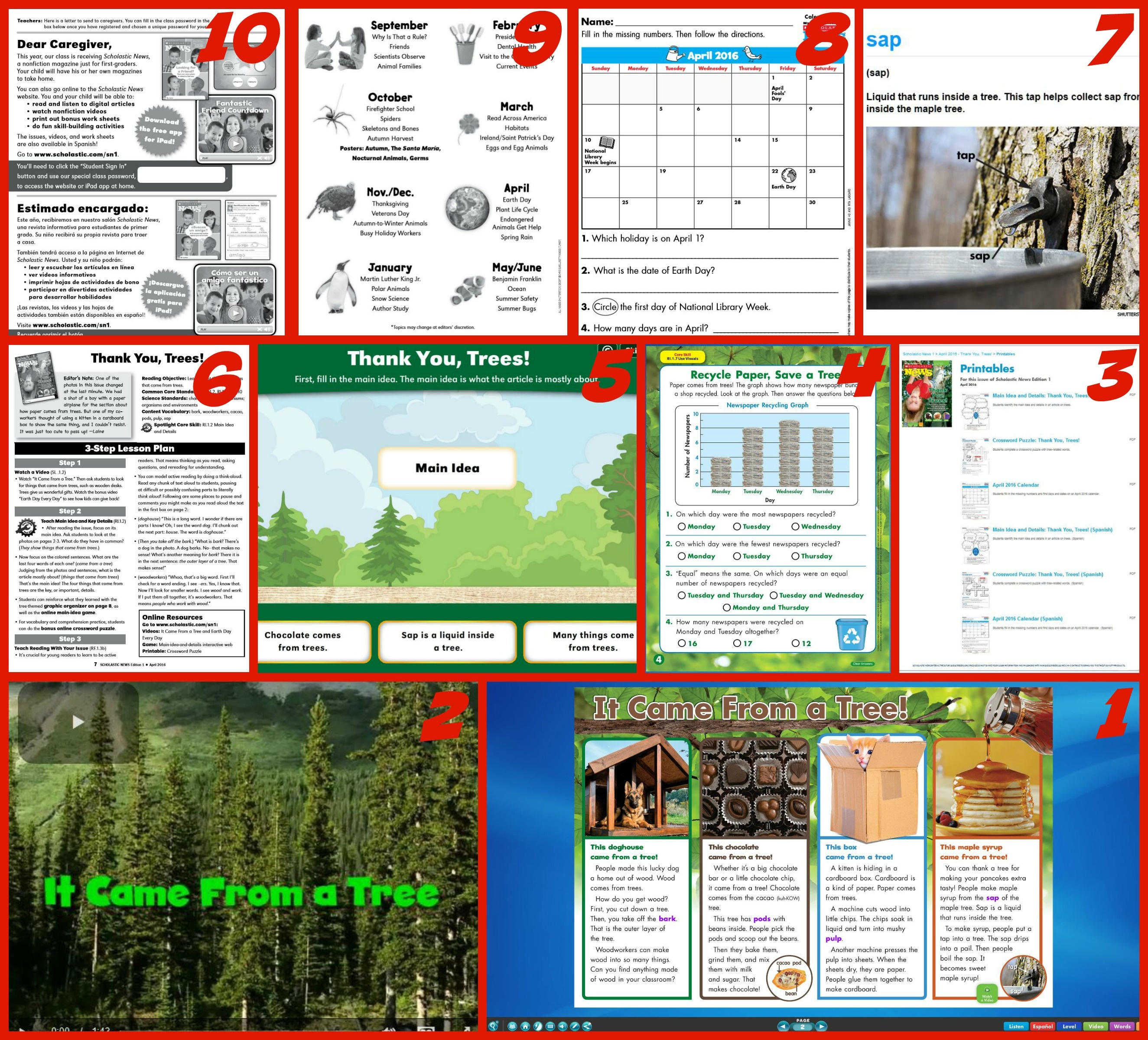 Making The Most Of Scholastic News Magazines | Scholastic - Scholastic Free Printables