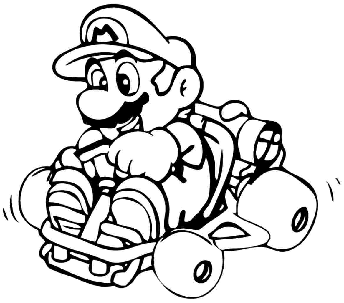 Mario Coloring Pages   Free Download Best Mario Coloring Pages On - Mario Coloring Pages Free Printable