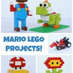 Mario Lego Projects With Building Instructions   Frugal Fun For Boys   Free Printable Lego Instructions