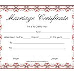 Marriage License Clipart   Clipartfest | Illuminating And Lettering   Fake Marriage Certificate Printable Free