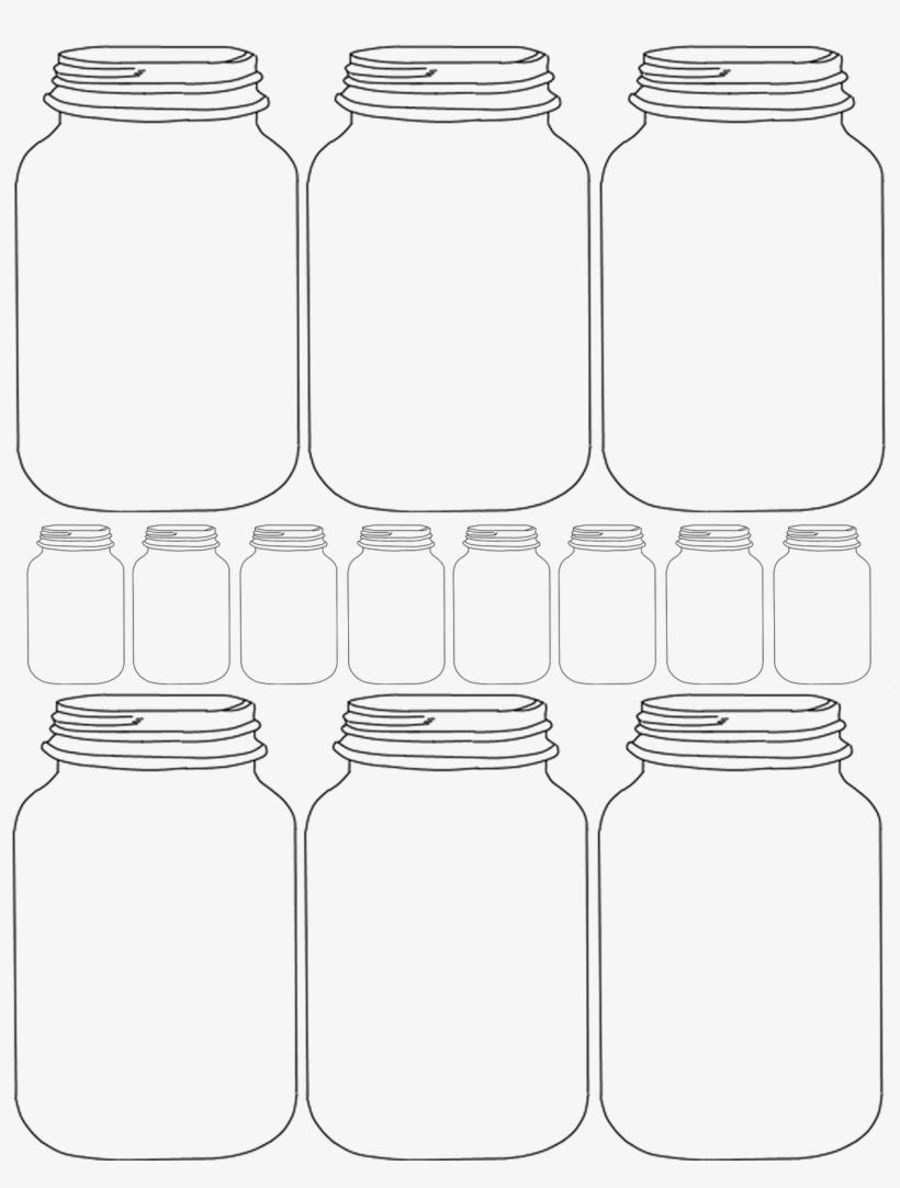 Mason Jar Clipart Transparent - Blank Mason Jar Invitation Templates - Free Printable Mason Jar Invitation Template
