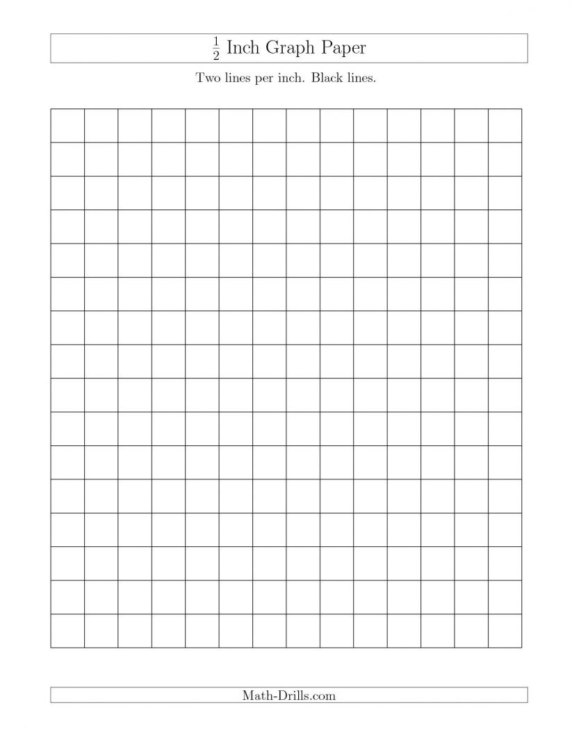 Math : 12 Inch Graph Paper With Black Lines A Graph With Paper Also - Free Printable Graph Paper Black Lines