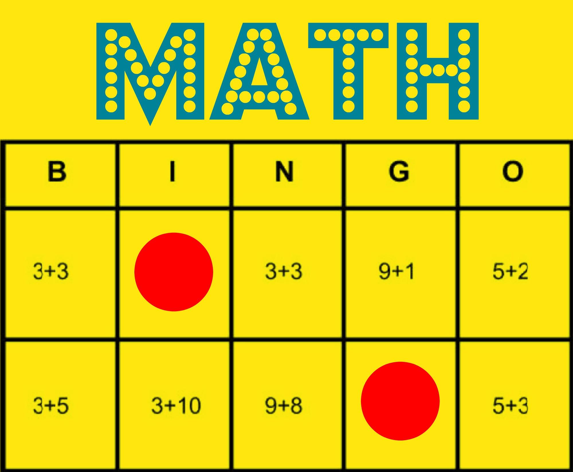 Math Bingo: Free Printable Game To Help All Students Learn Math - Math Bingo Free Printable