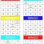 Math Bingo | Free Printable Pdf Math Bingo Cards   Math Bingo Free Printable