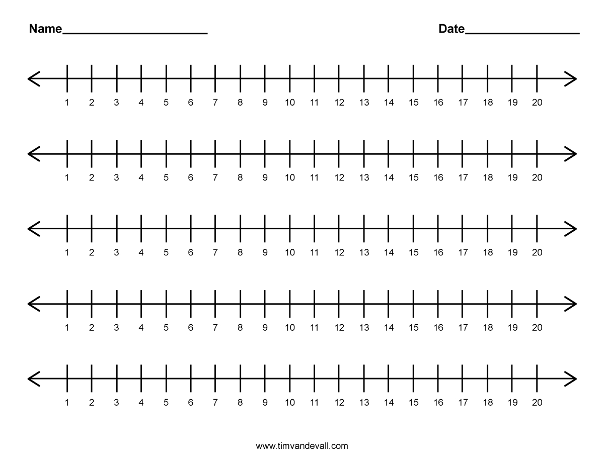 Math : Printable Number Lines To 20 1000 Images About Numberlines On - Free Printable Number Line To 30