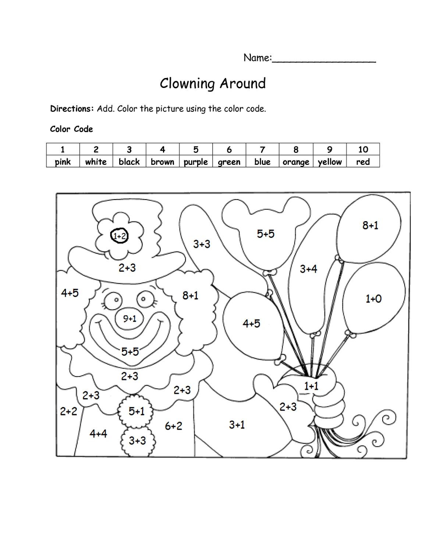 Math Worksheet Fun Printable | K5 Worksheets | Math Worksheets | 2Nd - Free Printable Math Coloring Worksheets For 2Nd Grade