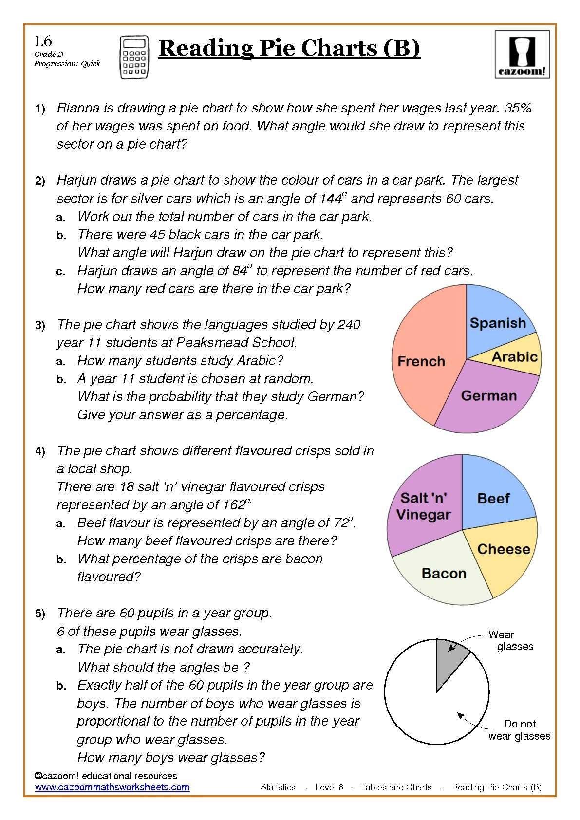 Maths Worksheets | Things To Wear | Math Worksheets, Worksheets For - Free Printable Statistics Worksheets