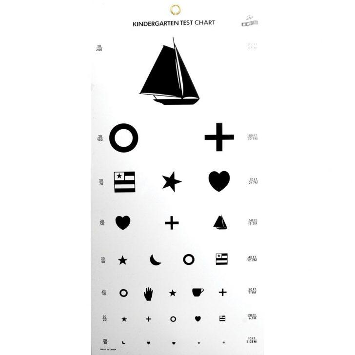 Eye Exam Chart Printable Free