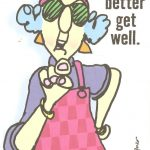 Maxine |  Posting This Get Well Card My Hubby Is Sending A Friend   Free Printable Maxine Cartoons