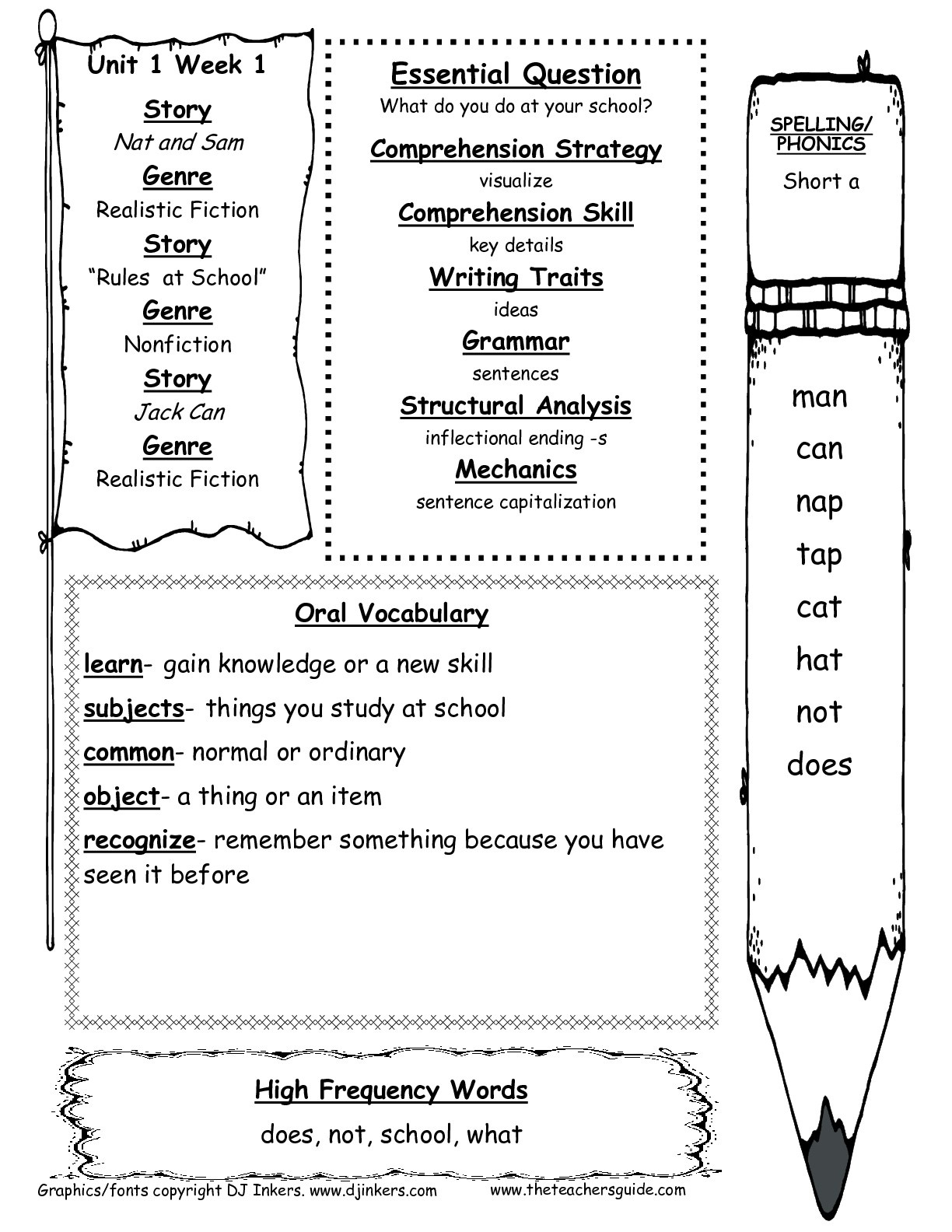 Mcgraw-Hill Wonders First Grade Resources And Printouts - Free Printable Story Books For Grade 1