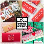 Michelle Paige Blogs: 10 Free Printable Candy Bar Wrapper Valentines   Free Printable Candy Bar Wrappers