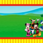 Mickey Clubhouse: Invitations And Party Free Printables.   Oh My   Mickey Mouse Clubhouse Free Printables