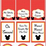 Mickey Mouse Clubhouse Party Ideas And Free Party Printables   Free Printable Mickey Mouse Decorations