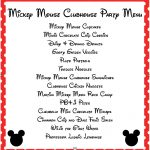 Mickey Mouse Clubhouse Party Ideas & Free Mickey Mouse Printables   Free Mickey Mouse Printables