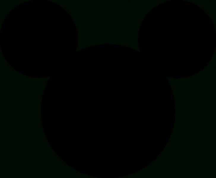 Free Printable Mickey Mouse Head