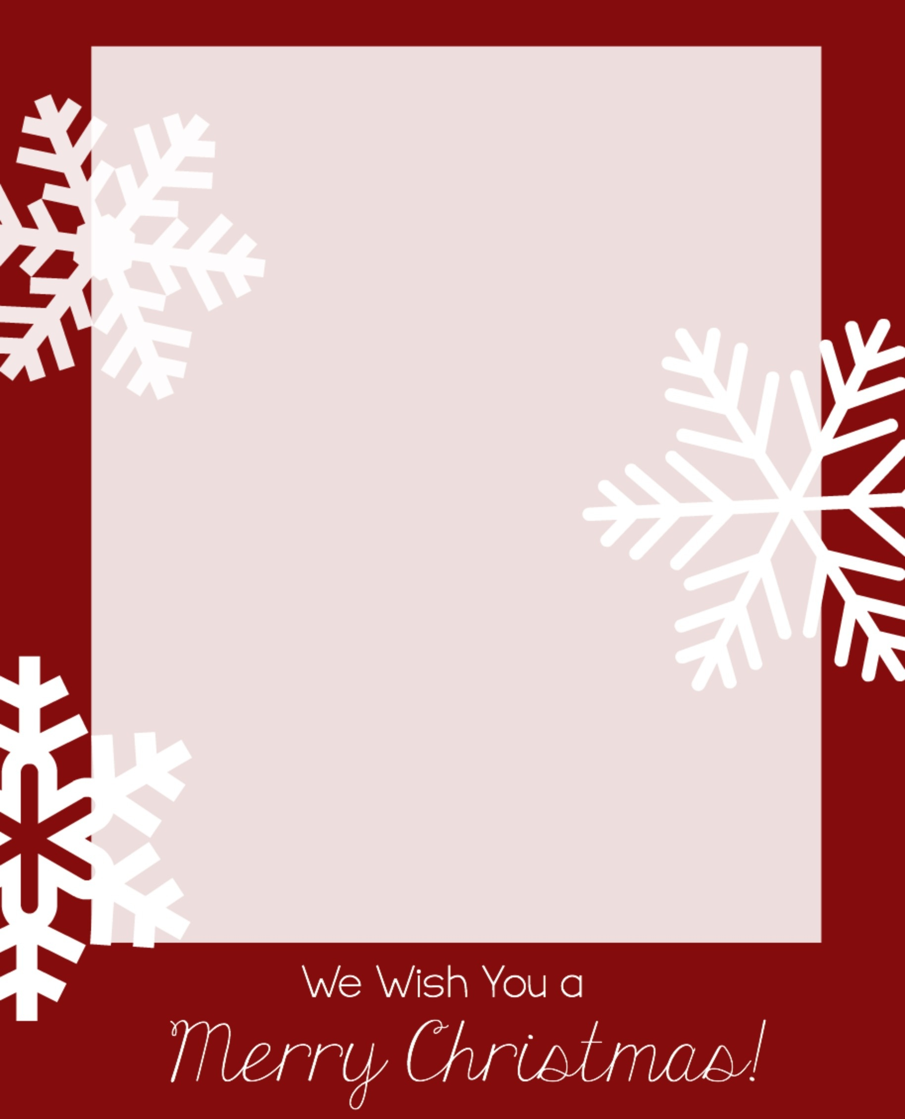 Microsoft Word Christmas Card Template - Tutlin.psstech.co - Free Printable Christmas Cards With Photo Insert