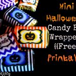 Mighty Delighty: Mini Halloween Candy Bar Wrappers {{Free Printable}}   Free Printable Mini Candy Wrapper Template