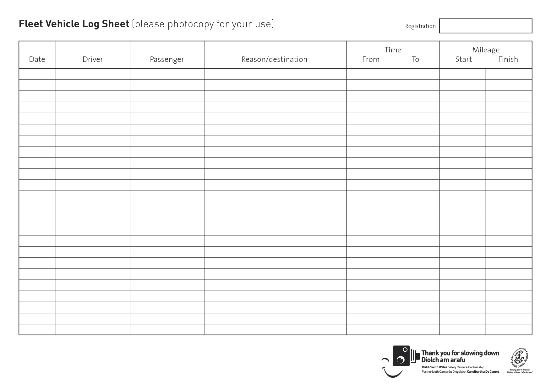 Military Vehicle Log Books | Fleet Vehicle Log Sheet (Please - Free Printable Driver Log Book