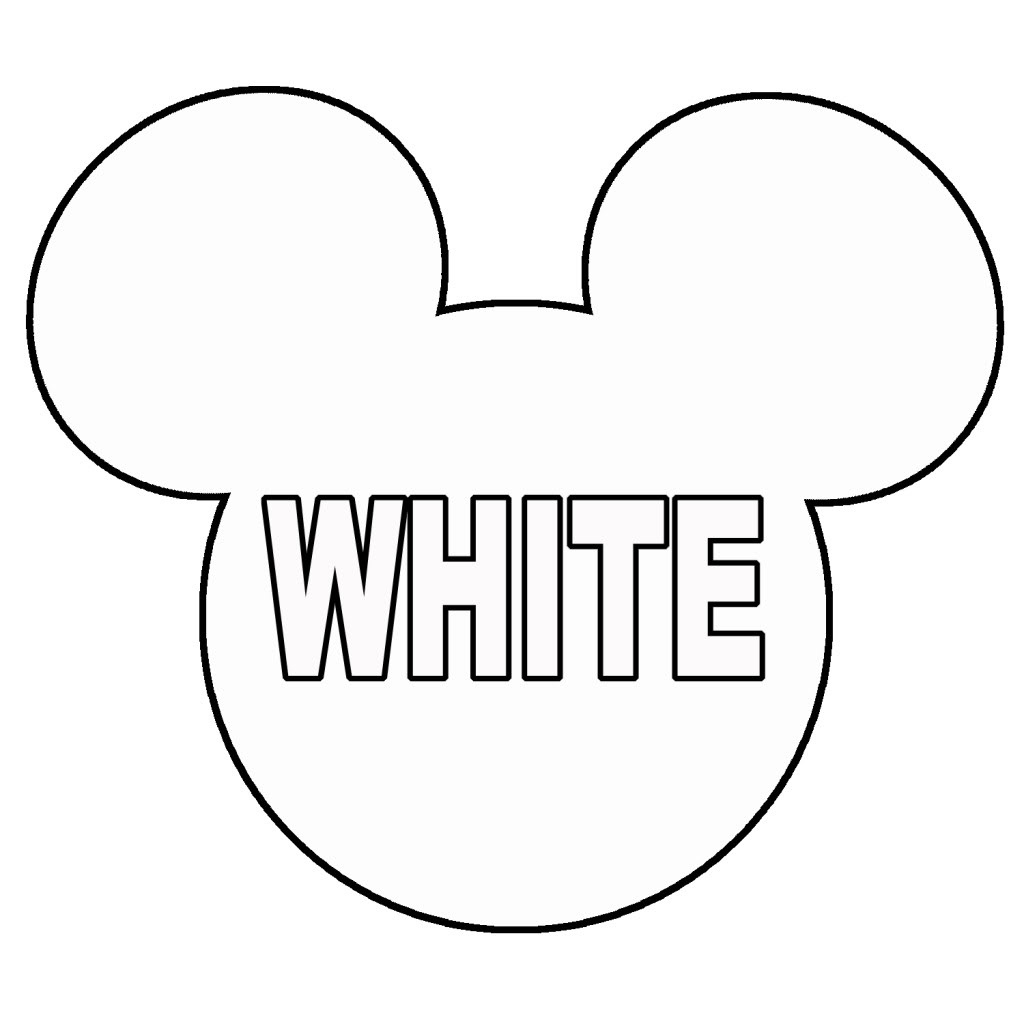 Minnie Mouse Bow Outline | Free Download Best Minnie Mouse Bow - Free Printable Minnie Mouse Ears Template