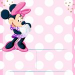 Minnie Mouse Invitation Template   Editable And Free Download   Free Minnie Mouse Printable Templates