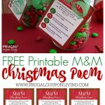 M&m Christmas Poem | ** ~ Holiday Delights! ~ ** | Edible Christmas   Free Printable Christian Christmas Gift Tags