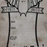 Modern Printable Halloween Birthday Invitations Images   Invitation   Free Printable Halloween Invitations For Adults