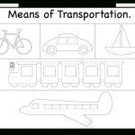 Modes Of Transportation / Free Printable Worksheets – Worksheetfun   Free Printable Transportation Worksheets For Kids
