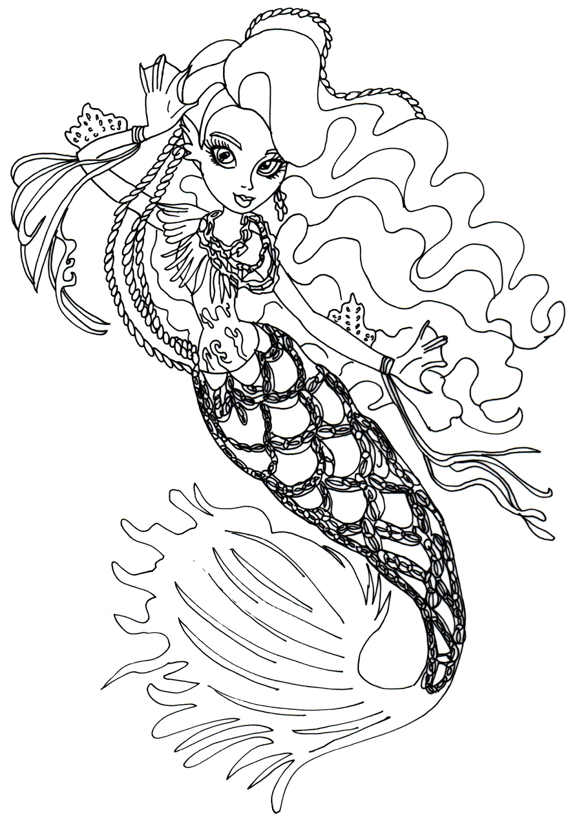 Monster High Free Printables   Free Printable Monster High Coloring - Monster High Free Printable Pictures