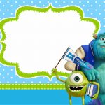 Monster University: Free Printable Party Invitations. | Monsters Inc   Free Printable Monsters Inc Birthday Invitations