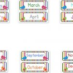 Months Of The Year Clipart & Look At Clip Art Images   Clipartlook   Free Printable Months Of The Year