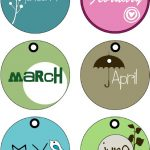 Months Of The Year Tags (Printable) | Random Printables | Month   Free Printable Months Of The Year Labels