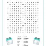 Months Of The Year Word Search Free Printable For Kids   Free Printable Months Of The Year