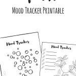 Mood Tracker, Mood Tracking, Bullet Journal, Planner, Freebie   Free Mood Tracker Printable