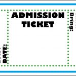 Mormon Share } Admission Ticket | Colossal Coaster World Vbs 2013   Free Printable Admission Ticket Template