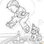 Mother Goose Nursery Rhymes Coloring Pages | Free Coloring Pages   Mother Goose Coloring Pages Free Printable