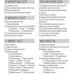 Moving Checklist   Free Printable Download | Moving Cards In 2019   Free Printable Change Of Address Cards