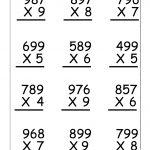 Multiplication Worksheets For 5Th Grade | Worksheetfun   Free   Free Printable Worksheets For 5Th Grade
