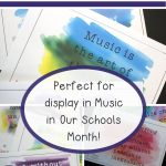 Music Quotes Posters Freebie | Literacy Counts! | Music Classroom   Free Printable Music Posters