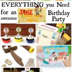Musings Of An Average Mom: Free Printable Jake Party   Free Printable Jake And The Neverland Pirates Cupcake Toppers