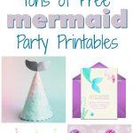 Musings Of An Average Mom: Mermaid Party Printables   Free Printable Mermaid Thank You Cards