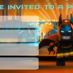 Musings Of An Average Mom: More Lego Batman Party Invitations   Free Printable Lego Batman