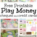 Musings Of An Average Mom: Pretend Play Money   Free Printable Play Money