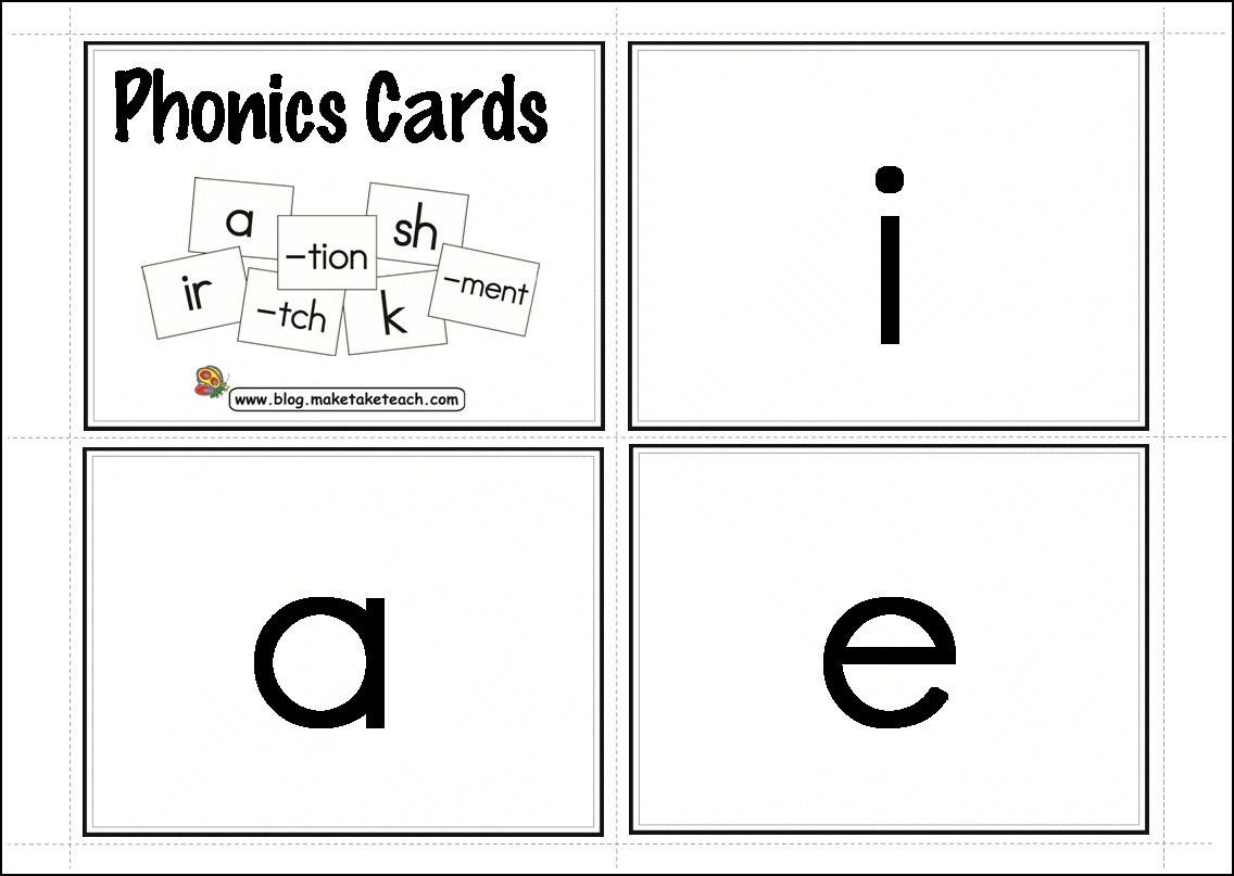 My Favorite Resources For Dyslexia And Learning Disabilities - Make - Free Printable Blending Cards