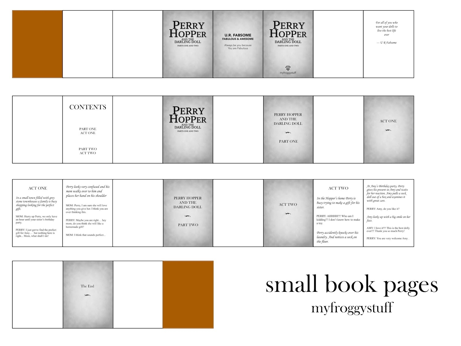 My Froggy Stuff: How To Make A Miniature Harry Potter Book For Dolls - Myfroggystuff Blogspot Free Printables